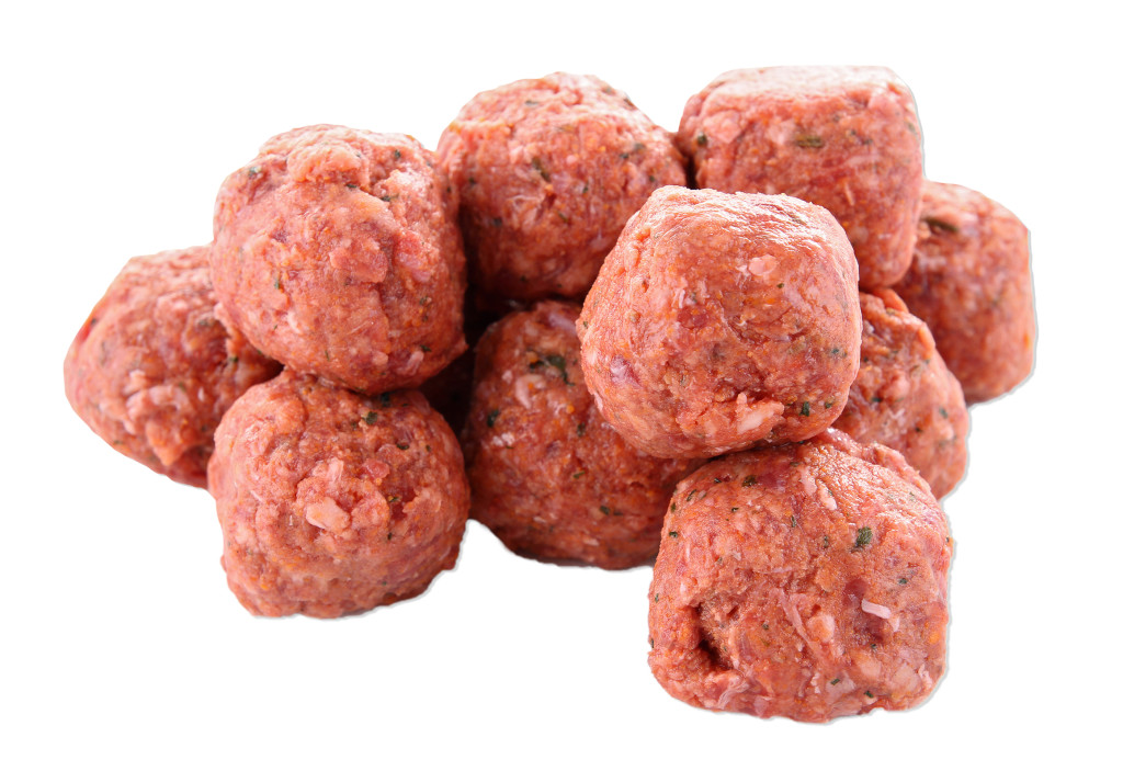 Beef Meatballs Edge Out