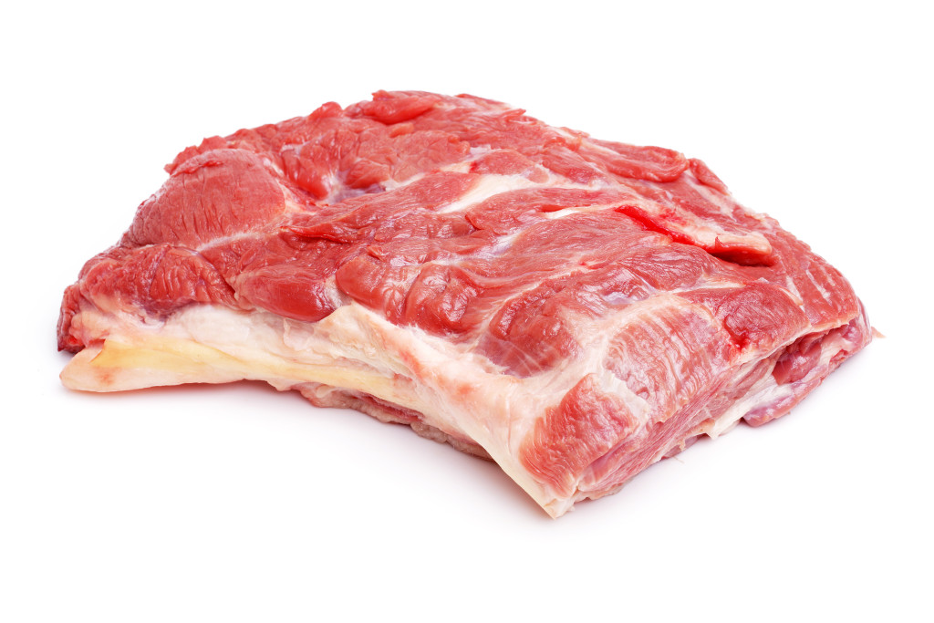 Mutton Trunk Boneless 85CL